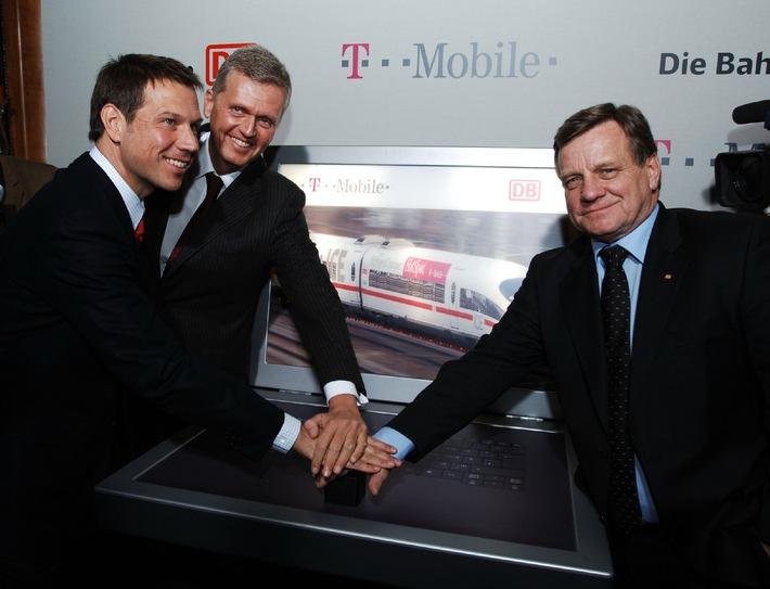www.im ICE: Deutsche Bahn und T-Mobile starten drahtlosen Internetzugang im ICE und Bahnhof