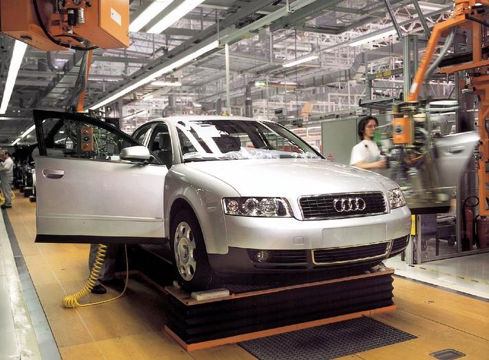 Audi setzt Erfolgsgeschichte fort