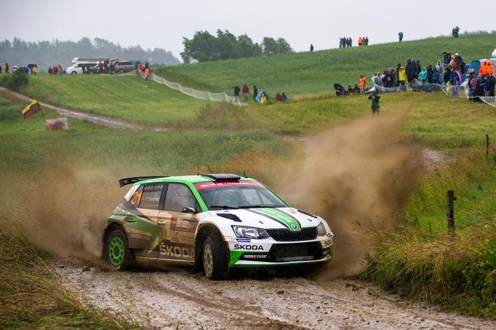 Drei SKODA Werksautos bei WM-Rallye in Wales - Tidemand, Veiby und Nordgren starten in WRC 2