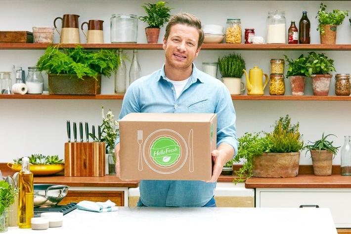Jamies Küche   Hellofresh Bringt Jamie Oliver In Deutschlands Kuchen Presseportal