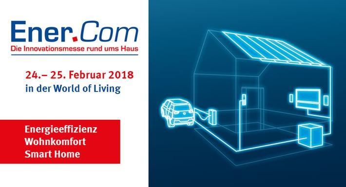 Innovationsmesse Ener.Com am 24. + 25. Februar in Rheinau-Linx