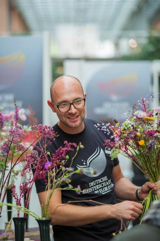 Marcel Schulz ist Deutscher Meister der Floristen 2014