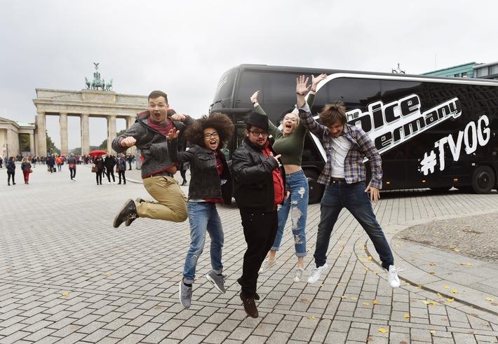"""Unplugged, live und in ganz Deutschland! """"The Voice of Germany"""" geht vor Start der Musikshow im TV auf Tour"""