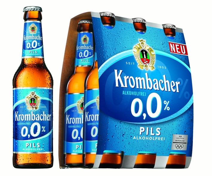 ▷ Die natürlichen Durstlöscher: Krombacher bringt o,0% Pils und o,0 ...
