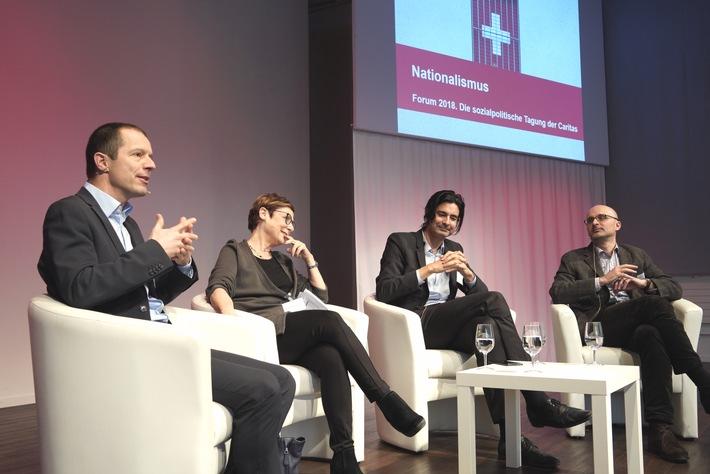170 Fachleute aus Politik, Wirtschaft und Sozialbereich diskutieren am Caritas-Forum in Bern / Gegen Ausgrenzung durch Nationalismus