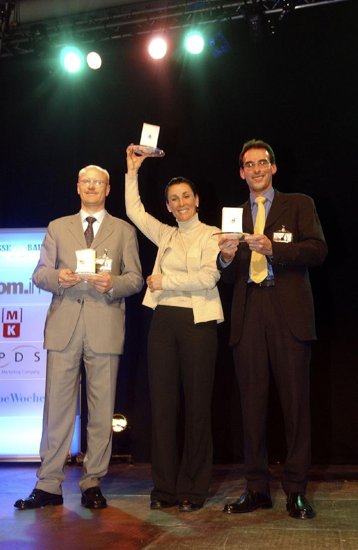 Marketing Trophy 2003: Les gagnants