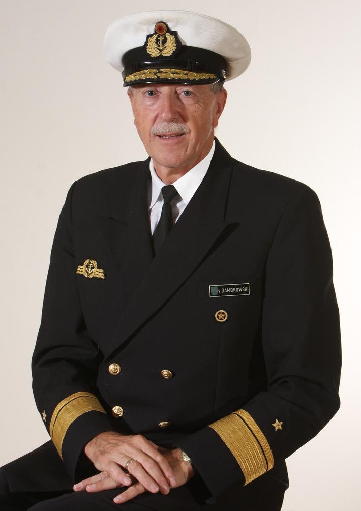 Konteradmiral Klaus von Dambrowski