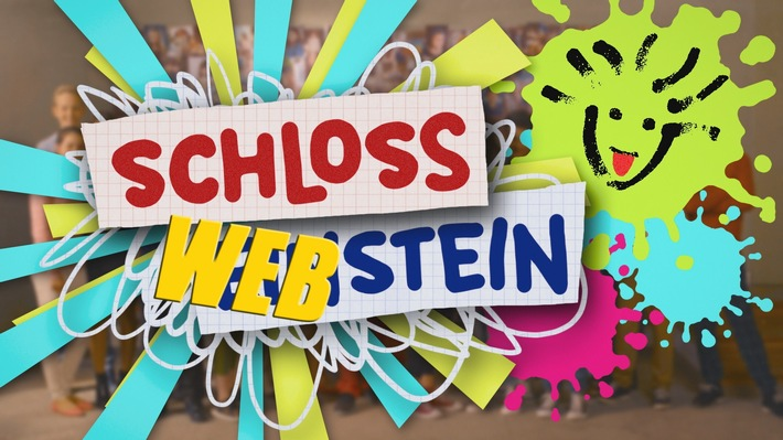 """""""Schloss Einstein"""" erstmalig mit Mini-Webserie vor TV-Ausstrahlung / """"Schloss Webstein"""" Logo. Weiterer Text über ots und www.presseportal.de/nr/7880 / Die Verwendung dieses Bildes ist für redaktionelle Zwecke honorarfrei. Veröffentlichung bitte unter Quellenangabe: """"obs/MDR/KiKa"""""""