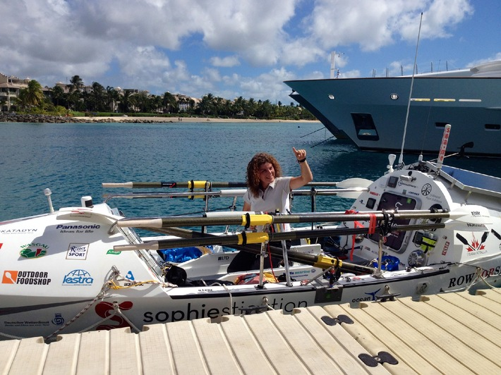 Geschafft! Janice Jakait querte den Atlantik in einem Ruderboot