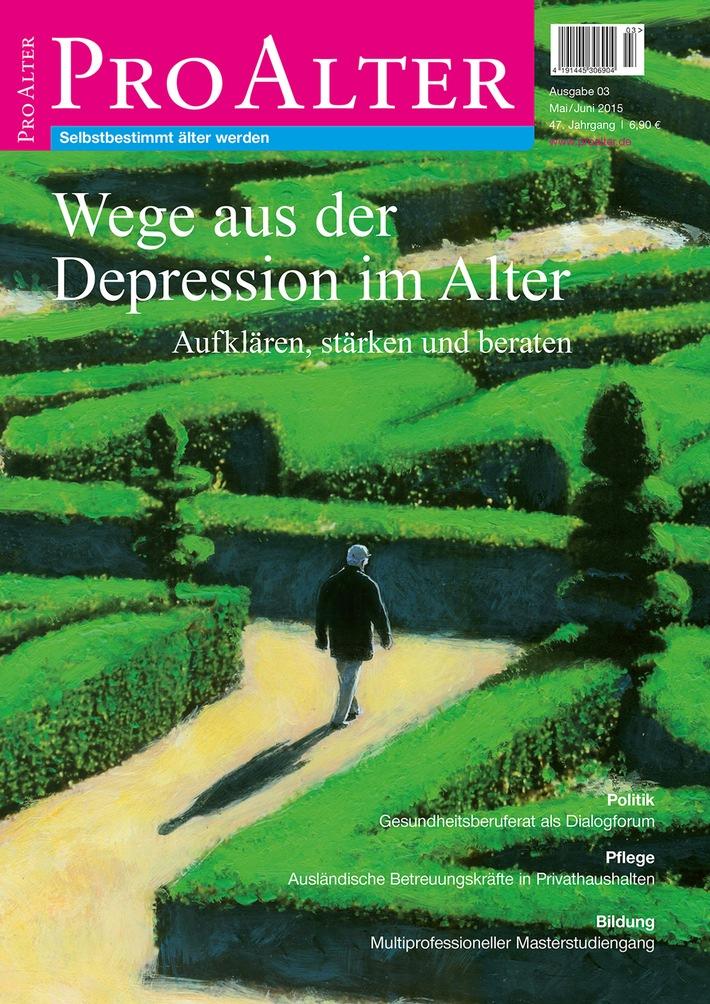 Wege aus der Depression im Alter