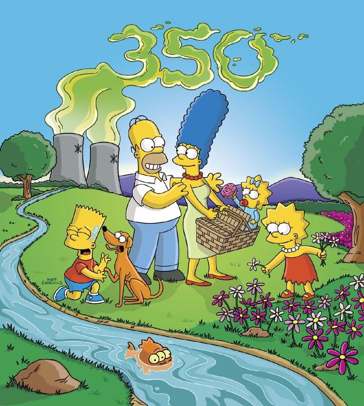 Prominenter geht's nicht: Die unglaublichen Simpsons feiern Folge 350