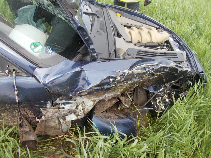 Beschädigungen am Maserati II