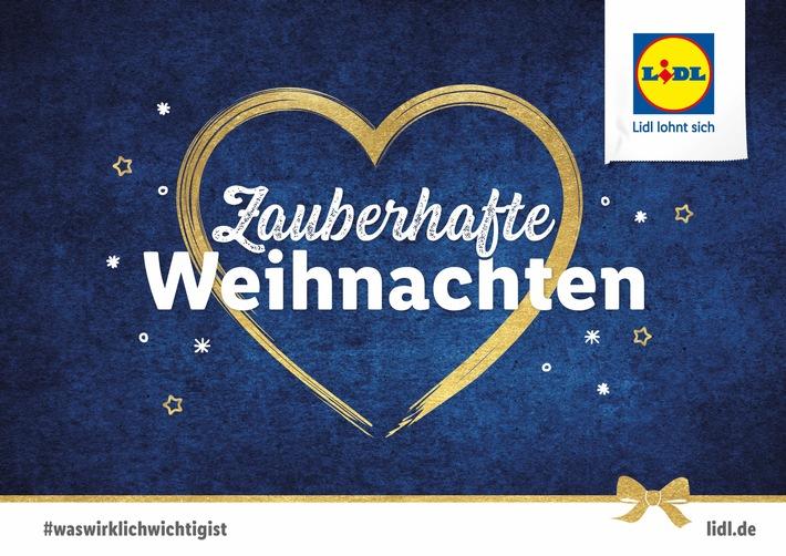 """Lidl-Weihnachtskampagne 2018: #waswirklichwichtigist. Weiterer Text über ots und www.presseportal.de/nr/58227 / Die Verwendung dieses Bildes ist für redaktionelle Zwecke honorarfrei. Veröffentlichung bitte unter Quellenangabe: """"obs/LIDL"""""""