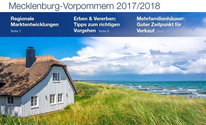 PM Immobilienmarktzahlen Mecklenburg-Vorpommern 2017 | PlanetHome Group GmbH
