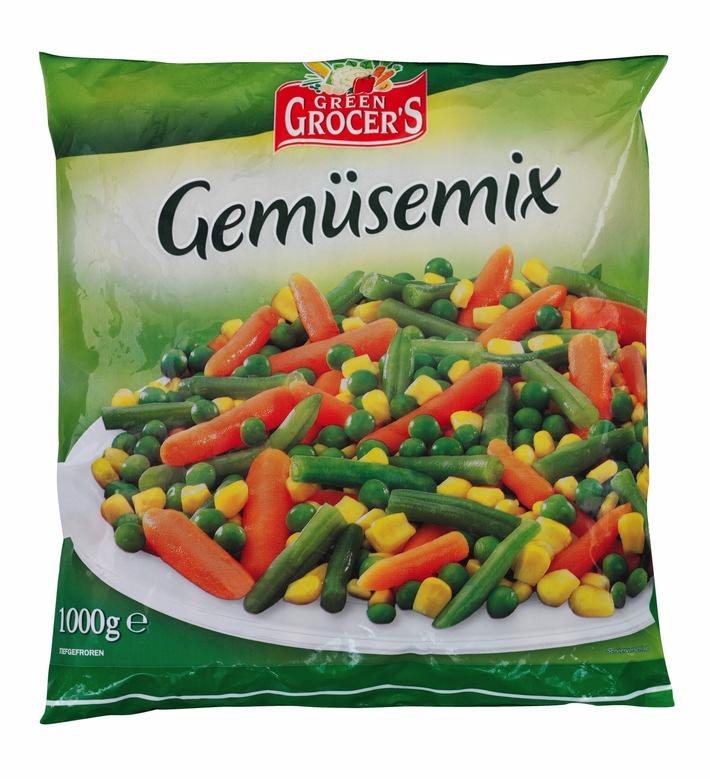 """Der belgische Hersteller Greenyard Frozen Belgium N.V. erweitert den Warenrückruf des Produktes """"Freshona Gemüsemix"""" vom 05.07.2018 und ruft zusätzlich das Produkt """"Green Grocer's Gemüsemix"""" zurück. Weiterer Text über ots und www.presseportal.de/nr/58227 / Die Verwendung dieses Bildes ist für redaktionelle Zwecke honorarfrei. Veröffentlichung bitte unter Quellenangabe: """"obs/LIDL/Lidl"""""""