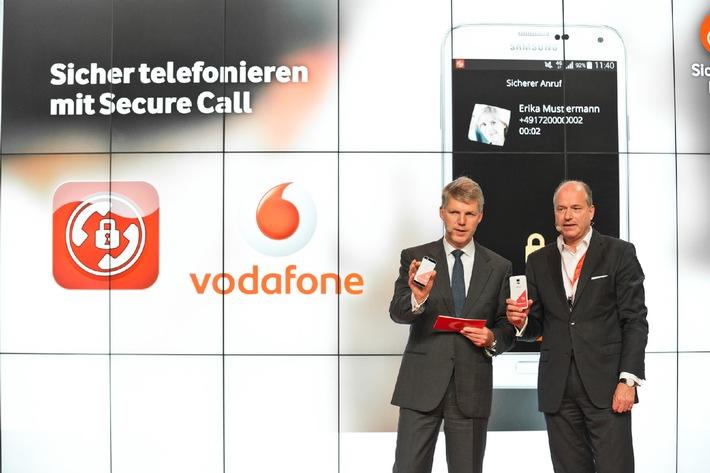 Secure Call: Vodafone zeigt erstes Hochsicherheits-Telefonat auf der IFA