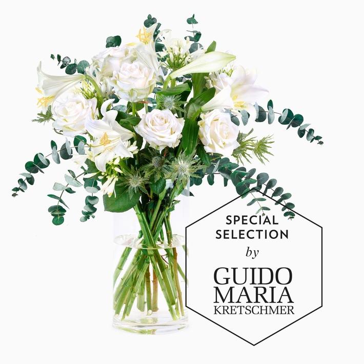 Exklusiv Zum Valentinstag: Bouquet Von Guido Maria Kretschmer Bei Bloomy  Days