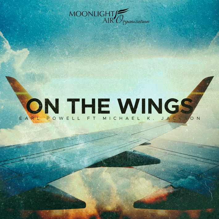 """Cover """"On The Wings"""" von Earl Powell Weiterer Text über ots und www.presseportal.ch/de/nr/100065804 / Die Verwendung dieses Bildes ist für redaktionelle Zwecke honorarfrei. Veröffentlichung bitte unter Quellenangabe: """"obs/Moonlight Air Organization"""""""