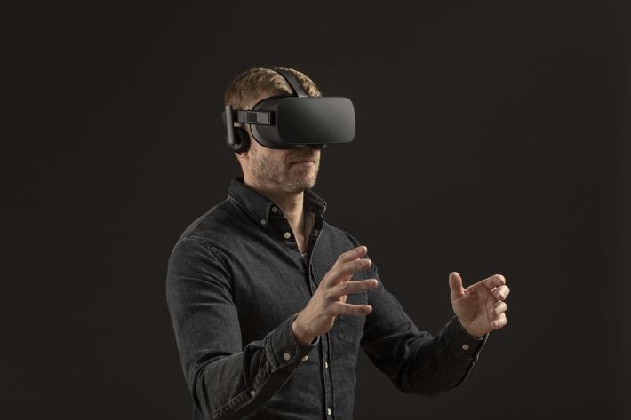 """Virtual-Reality-Brille (Symbolbild) / Weiterer Text über ots und www.presseportal.de/nr/13502 / Die Verwendung dieses Bildes ist für redaktionelle Zwecke honorarfrei. Veröffentlichung bitte unter Quellenangabe: """"obs/Ericsson GmbH"""""""