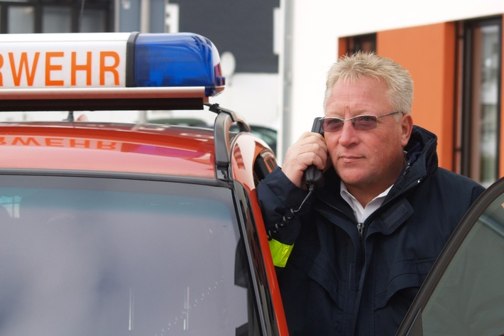 Kreisbrandmeister Bernd Schneider, Stellv. Vorsitzender des Verbandes der Feuerwehren in NRW