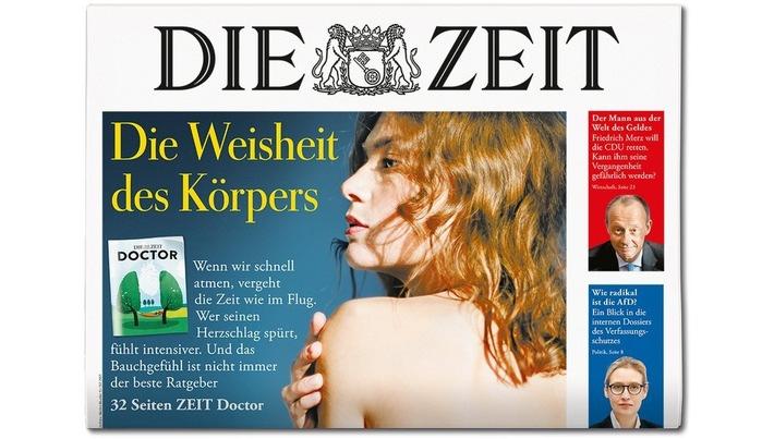 DIE ZEIT 46/18. Weiterer Text ber ots und www.presseportal.de/nr/9377 / Die Verwendung dieses Bildes ist fr redaktionelle Zwecke honorarfrei. Verffentlichung bitte unter Quellenangabe: