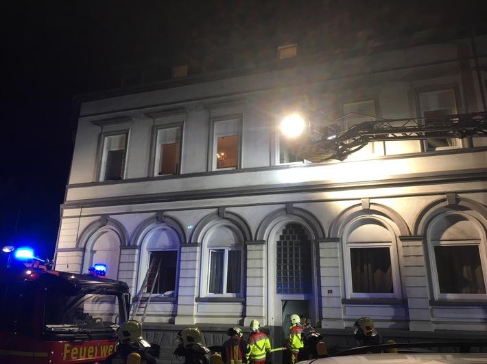 In diesem Haus in der Freytagstraße in Bulmke-Hüllen kam es zu einem Brand