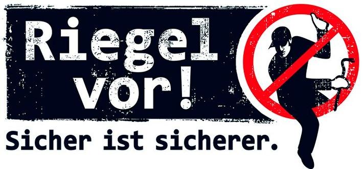 """POL-BO: """"Riegel vor! Sicher ist sicherer."""" -  Landesweite Aktionswoche im Kampf gegen Wohnungseinbrecher startet am 9. Oktober 2017"""