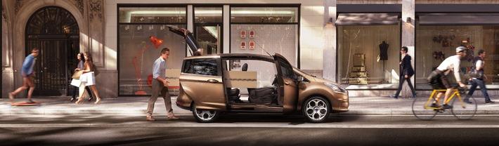 Die modernen Farben des neuen Ford B-MAX: inspiriert von Fashion und Lifestyle (mit Bild)