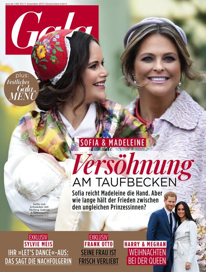 """Cover GALA (EVT: 07. Dezember 2017). Weiterer Text über ots und www.presseportal.de/nr/6106 / Die Verwendung dieses Bildes ist für redaktionelle Zwecke honorarfrei. Veröffentlichung bitte unter Quellenangabe: """"obs/Gruner+Jahr, Gala"""""""