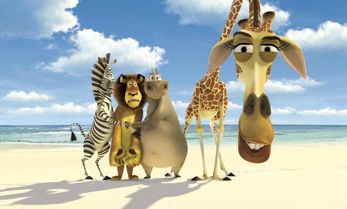 """Wilde Ostern: """"Madagascar"""", """"Simpsons"""" & Co. auf ProSieben"""