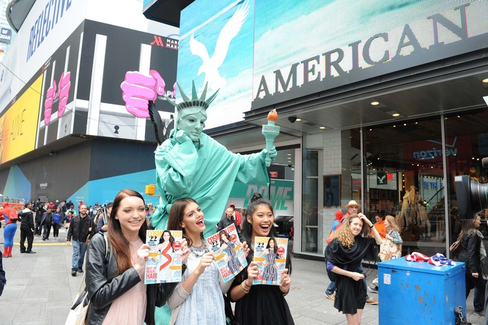 """Germany's next Topmodel - by Heidi Klum"" in New York"