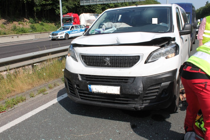 Unfallfahrzeug (Kleintransporter)