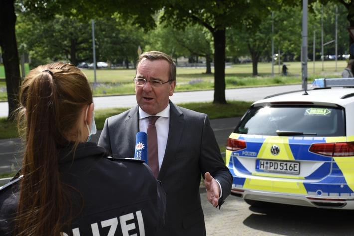 POL-H: Hinweis auf eine Presseinformation des Niedersächsischen Ministeriums für Inneres und Sport