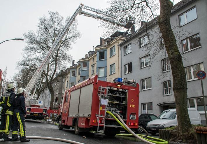 FW-BO: Dachstuhlbrand in der Innenstadt - Abschlussmeldung