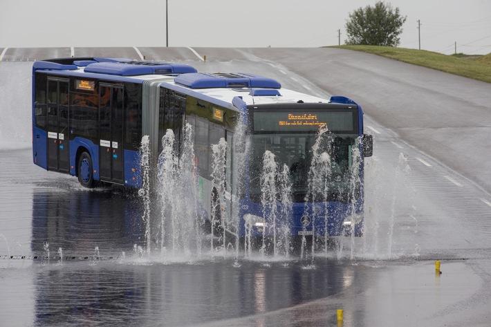 Fahrtraining für Busse beim TCS