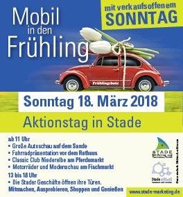 Mobil in den Frühling