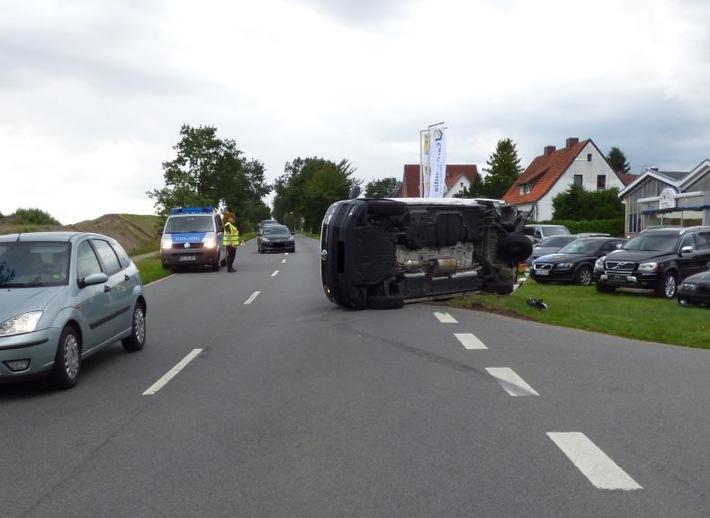 Verkerhsunfall in Müden/Örtze