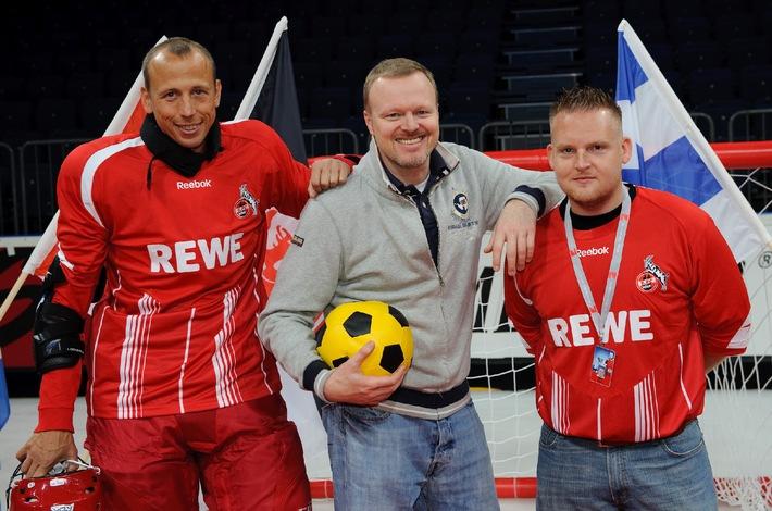 Stefan Raab will D.E.F.B.-Pokal holen
