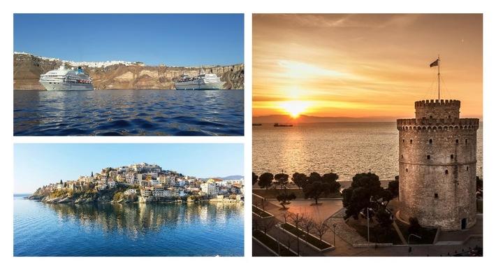 """Celestyal Cruises kündigt die Rückkehr zu ganzjährigen Kreuzfahrten an und ergänzt """"Idyllische Ägäis""""-Route mit Thessaloniki"""