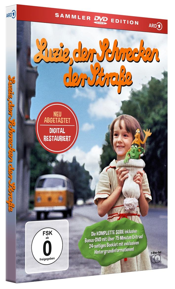 Luzie, der Schrecken der Straße DIGITAL RESTAURIERT ab 11. Dezember als exklusive DVD- und Blu-ray-Sammleredition erhältlich