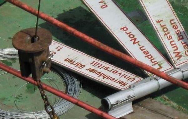 POL-H: Zeugenaufruf! Sportboot kollidiert mit Verkehrsschild