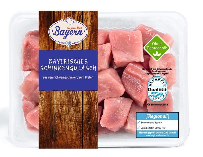"""Lidl führt als erster Discounter gentechnikfreies Schweinefleisch ein: Qualitätsvorstoß bei regionaler Eigenmarke """"Ein gutes Stück Bayern"""""""