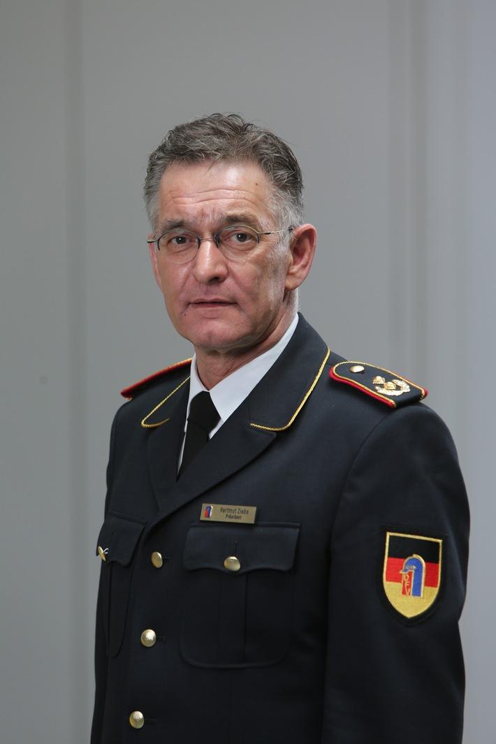 Hartmut ZIEBS, Präsident des Deutschen Feuerwehrverbandes (DFV)