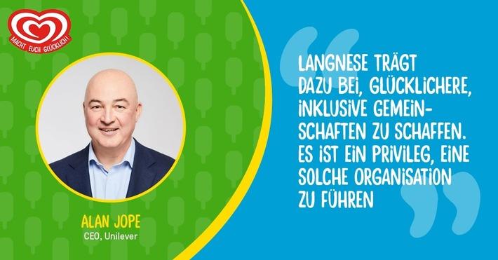 Alan Jope, CEO Unilever / Weiterer Text über ots und www.presseportal.de/nr/24435 / Die Verwendung dieses Bildes ist für redaktionelle Zwecke honorarfrei. Veröffentlichung bitte unter Quellenangabe: