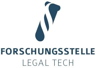 Logo Forschungsstelle Legal tech / Weiterer Text über ots und www.presseportal.de/nr/113055 / Die Verwendung dieses Bildes ...