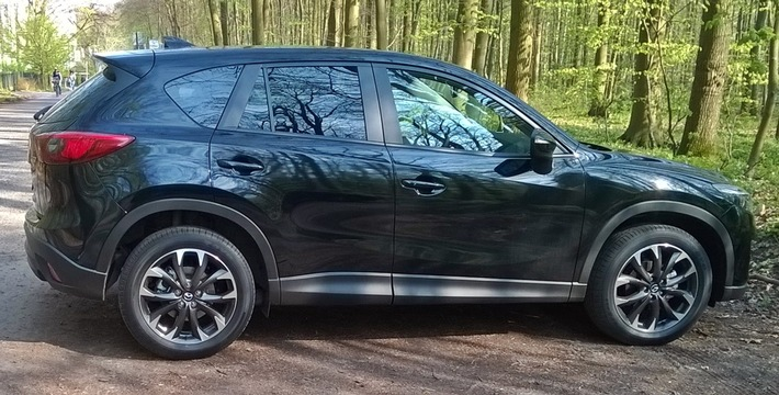 POL-SN: Mazda CX-5 in Schwerin entwendet