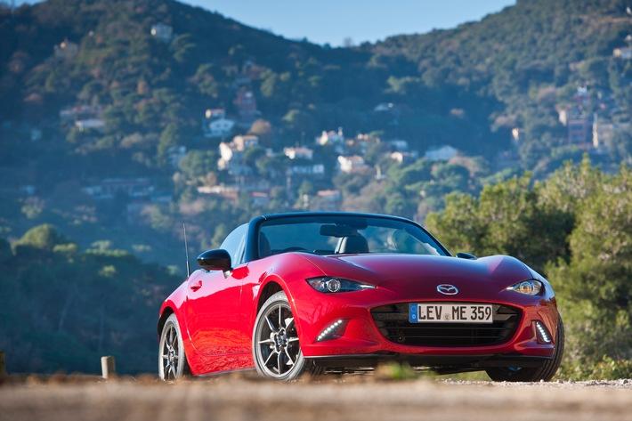 Neuer Mazda MX-5 zu Preisen ab 22.990 Euro bestellbar
