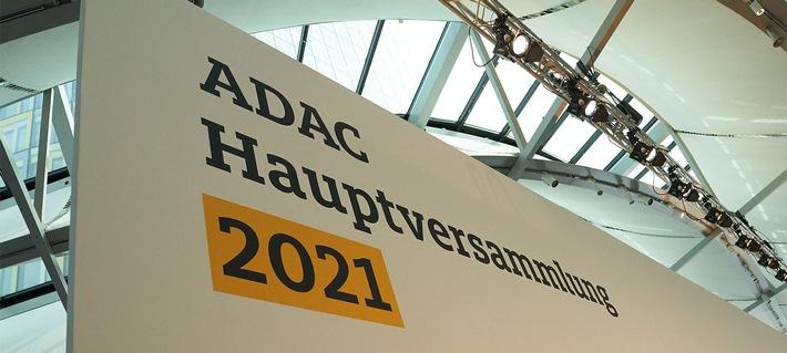 Das diesjährige Motto der ADAC Hauptversammlung. / Weiterer Text über ots und www.presseportal.de/nr/7849 / Die Verwendung dieses Bildes ist für redaktionelle Zwecke unter Beachtung ggf. genannter Nutzungsbedingungen honorarfrei. Veröffentlichung bitte mit Bildrechte-Hinweis.