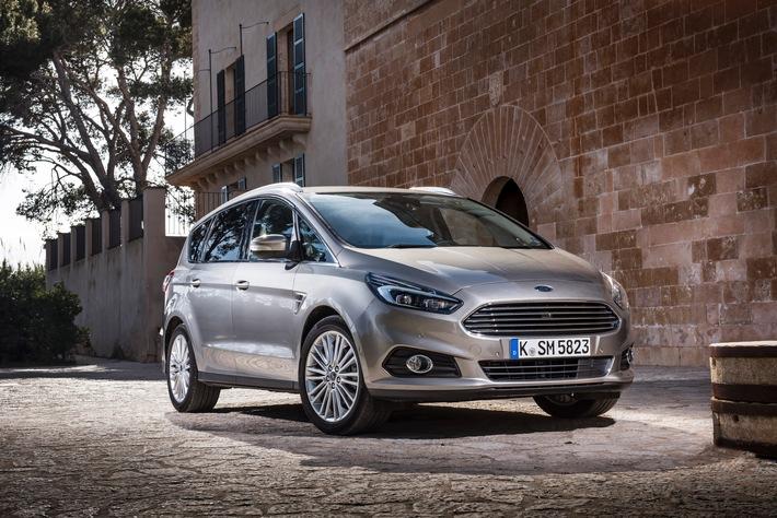 Ford im Herbst 2015: Link auf umfangreiches Pressematerial