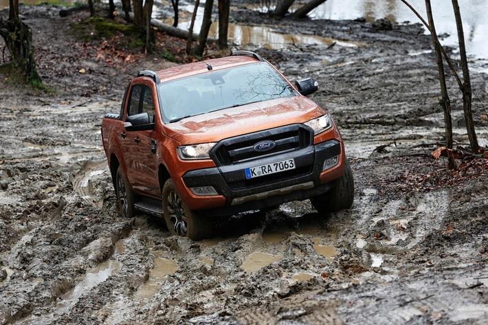 """Ford Ranger: Gesamtsieger in der Kategorie """"Allrad-Pickups"""" bei der Wahl zum """"Allradauto des Jahres 2016"""""""